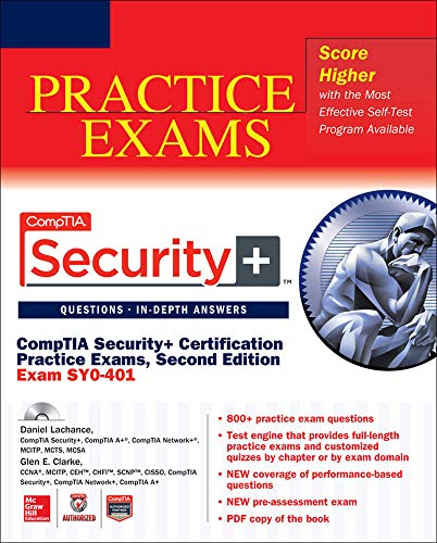 9780071833448: CompTIA Security+ Certification Practice Exams, Second Edition (Exam SY0-401) (Certification Press)