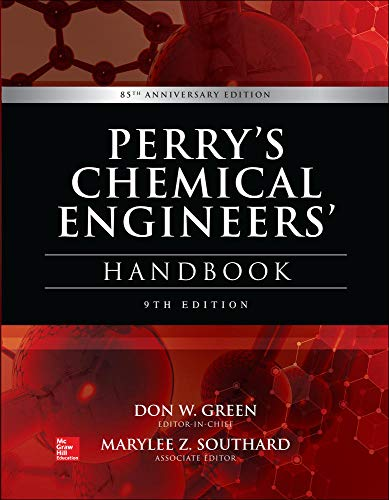 9780071834087: Perry's Chemical Engineers' Handbook, 9th Edition [Lingua inglese]