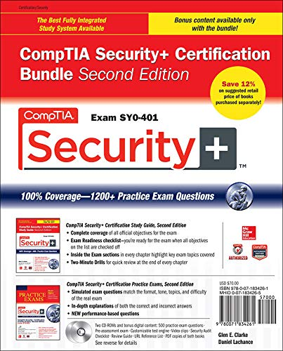 9780071834261: CompTIA Security+ Certification Bundle, Second Edition (Exam SY0-401) (Certification Press)