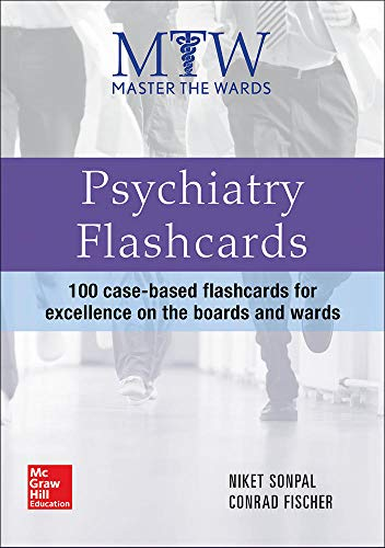 9780071834377: Master the Wards: Psychiatry Flashcards