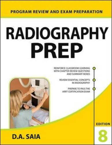9780071834582: Radiography PREP (Program Review and Exam Preparation), 8th Edition (Lange)