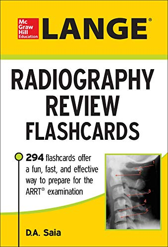 9780071834629: LANGE Radiography Review Flashcards