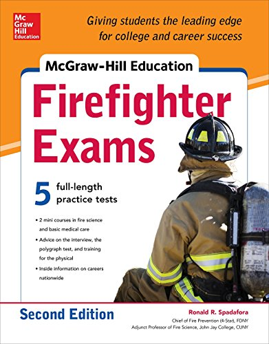 9780071835008: McGraw-Hill Education Firefighter Exam, 2nd Edition