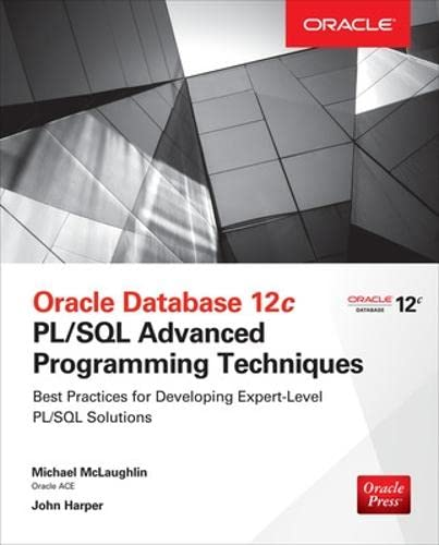 9780071835145: Oracle Database 12c PL/SQL Advanced Programming Techniques