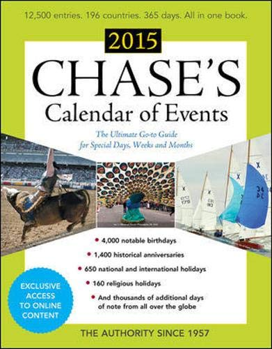 9780071835442: Chase's Calendar of Events 2015