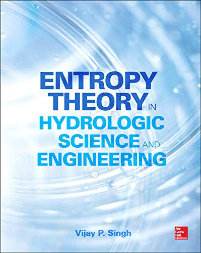 9780071835466: Entropy Theory in Hydrologic Science and Engineering