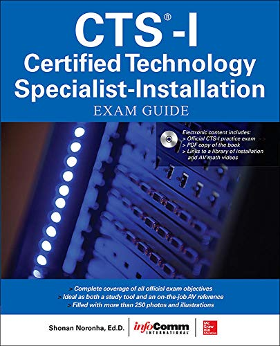 9780071835657: CTS-I Certified Technology Specialist-Installation Exam Guide