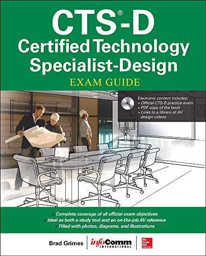 9780071835688: CTS-D Certified Technology Specialist Design Exam Guide