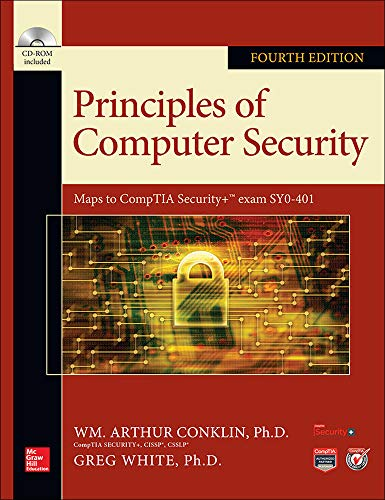 9780071835978: Principles of Computer Security, Fourth Edition (Official Comptia Guide)