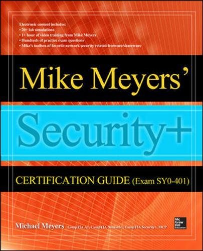 9780071836449: Mike Meyers' Comptia Security+ Certification Guide (Exam Sy0-401) (Certification Press)