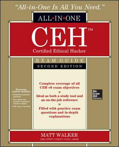9780071836487: CEH Certified Ethical Hacker All-in-One Exam Guide