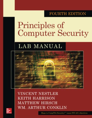 9780071836555: Principles of Computer Security Lab Manual, Fourth Edition