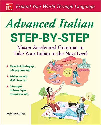 9780071837187: Advanced Italian Step-By-Step