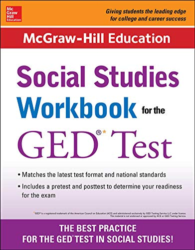 9780071837606: McGraw-Hill Education Social Studies Workbook for the GED Test