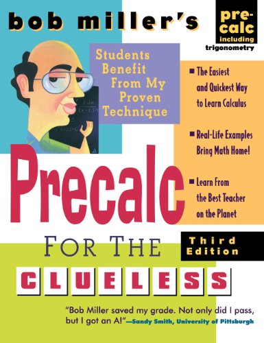9780071837873: Bob Miller's Precalc for the Clueless