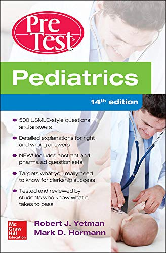 9780071838443: Pediatrics PreTest Self-Assessment And Review, 14th Edition (A & L Review)