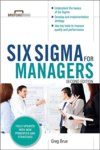 9780071838634: Six Sigma for Managers, Second Edition (Briefcase Books Series)