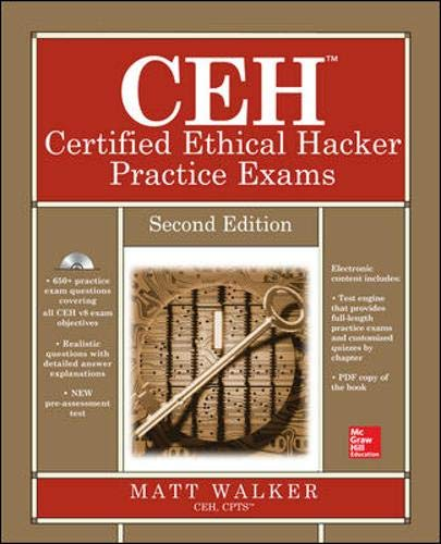 9780071838733: Ceh Certified Ethical Hacker Practice Exams, Second Edition (All-In-One)