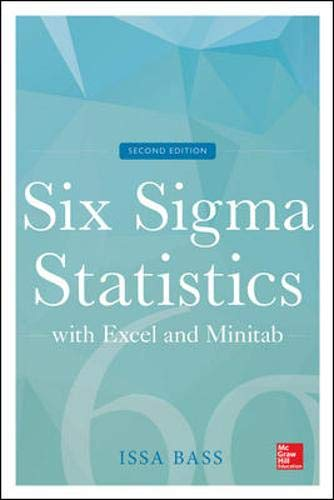 9780071838757: Six Sigma Statistics with Excel and Minitab, 2E