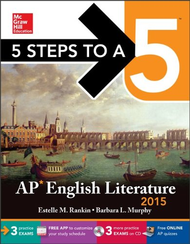 9780071839082: 5 Steps to a 5 AP English Literature [With CDROM]