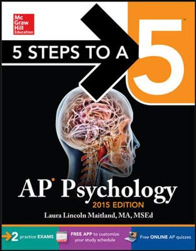9780071839099: 5 Steps to a 5 AP Psychology, 2015 Edition (5 Steps to a 5 on the Advanced Placement Examinations)