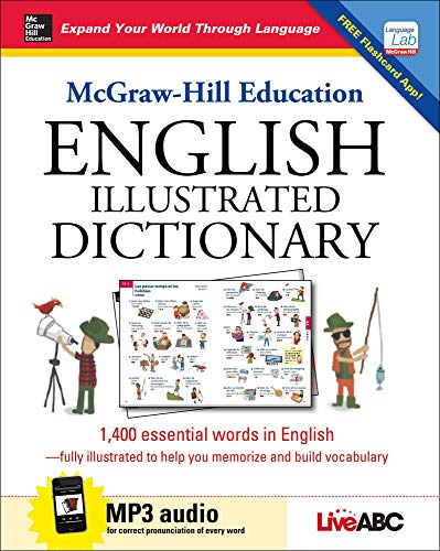9780071839570: McGraw-Hill Education English Illustrated Dictionary (Mcgraw Hill Education Bk & CD)