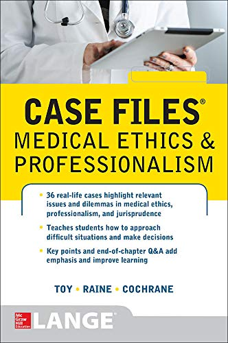 9780071839624: Case Files Medical Ethics and Professionalism