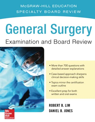 9780071839938: General Surgery Examination and Board Review