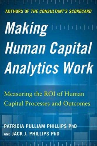 9780071840200: Making Human Capital Analytics Work: Measuring the ROI of Human Capital Processes and Outcomes