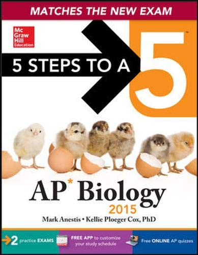 9780071840347: 5 Steps to a 5 AP Biology, 2015 Edition