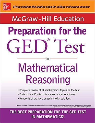 9780071840385: McGraw-Hill Education Strategies for the GED Test in Mathematical Reasoning