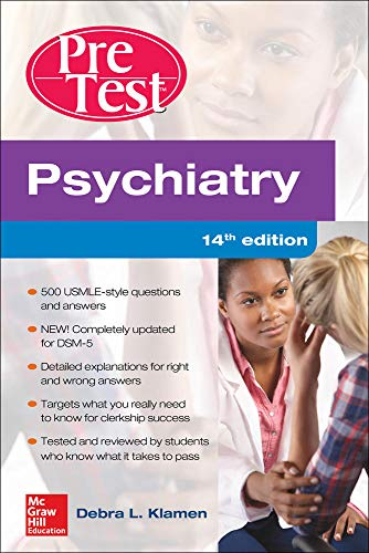 9780071840484: Psychiatry PreTest Self-Assessment And Review, 14th Edition