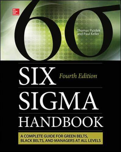 9780071840538: The Six Sigma Handbook, Fourth Edition (Mechanical Engineering)