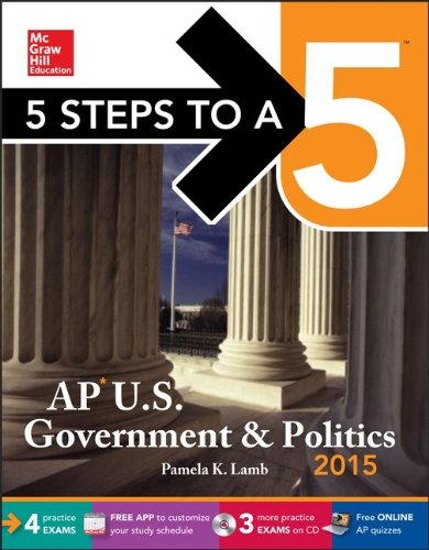 9780071840835: 5 Steps to a 5 AP US Government and Politics with CD-ROM, 2015 Edition (5 Steps to a 5 on the Advanced Placement Examinations Series)
