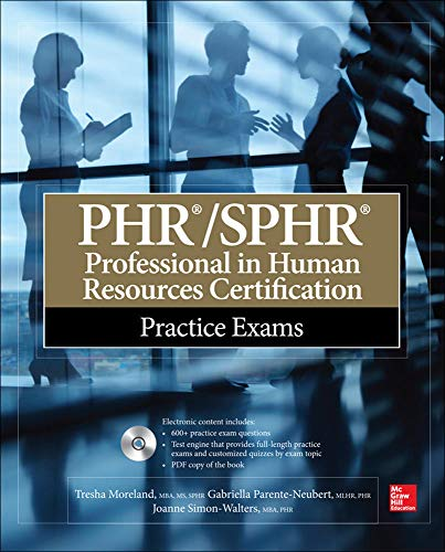 9780071840910: PHR/SPHR Professional in Human Resources Certification Practice Exams (All-in-One)