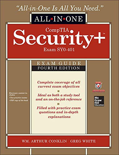 CompTIA Security+ All-in-One Exam Guide, Fourth Edition: Conklin, Wm. Arthur,