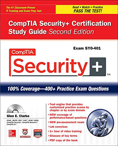 9780071841283: Comptia Security+ Certification Study Guide, Second Edition (Exam Sy0-401) (Certification Press)