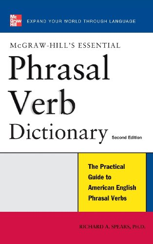 9780071841382: Essential Phrasal Verb Dictionary (McGraw-Hill's Essential)