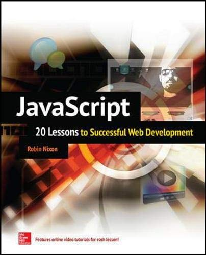 9780071841580: JavaScript: 20 Lessons to Successful Web Development