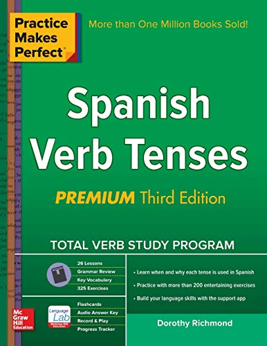 9780071841856: Practice Makes Perfect Spanish Verb Tenses
