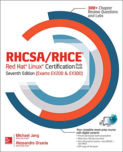 9780071841962: Rhcsa/Rhce Red Hat Linux Certification Study Guide, Seventh Edition (Exams Ex200 & Ex300)