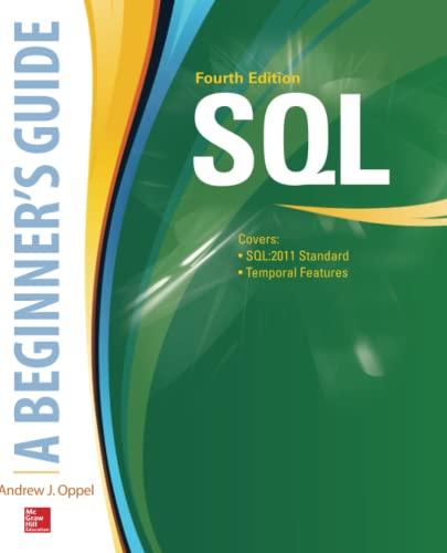 9780071842594: SQL: A Beginner's Guide