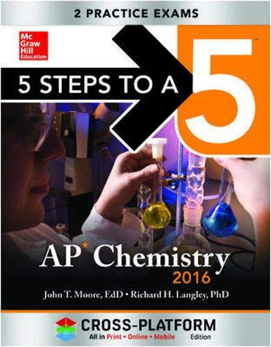 9780071843164: 5 Steps to a 5 AP Chemistry 2016, Cross-Platform Edition