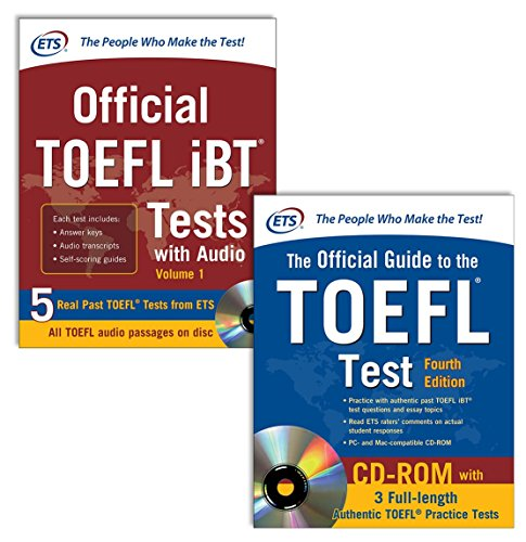 9780071843317: Official TOEFL Test Prep Savings Bundle