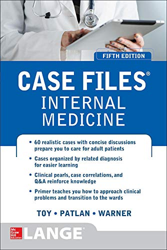 9780071843355: Case Files Internal Medicine, Fifth Edition (LANGE Case Files)