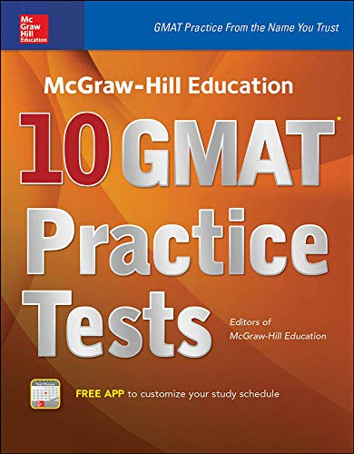 9780071843485: McGraw-Hill Education 10 GMAT Practice Tests