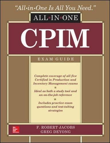 9780071843775: CPIM All-In-One Exam Guide