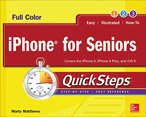 9780071843997: iPhone for Seniors QuickSteps