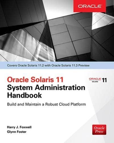 9780071844185: Oracle Solaris 11.2 System Administration Handbook (Oracle Press)