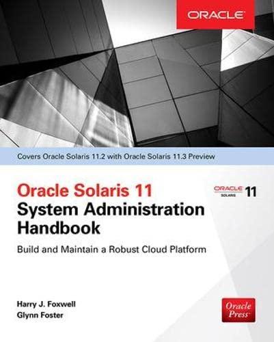 9780071844185: Oracle Solaris 11.2 System Administration Handbook